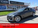 Used 2014 Cadillac CTS Luxury   CAM! CUE! NAV! ROOF! for sale in St Catharines, ON