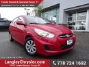 Used 2016 Hyundai Accent GL ACCIDENT FREE w/ POWER WINDOWS/LOCKS, BLUETOOTH & HEATED FRONT SEATS for sale in Surrey, BC