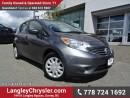 Used 2016 Nissan Versa Note 1.6 SV ACCIDENT FREE w/ POWER WINDOWS/LOCKS & A/C for sale in Surrey, BC