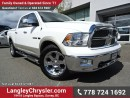 Used 2010 Dodge Ram 1500 Laramie ACCIDENT FREE w/ 4X4, TOW PACKAGE & NAVIGATION for sale in Surrey, BC