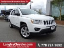 Used 2013 Jeep Compass Sport/North ACCIDENT FREE w/ 4X4, POWER WINDOWS/LOCKS & A/C for sale in Surrey, BC
