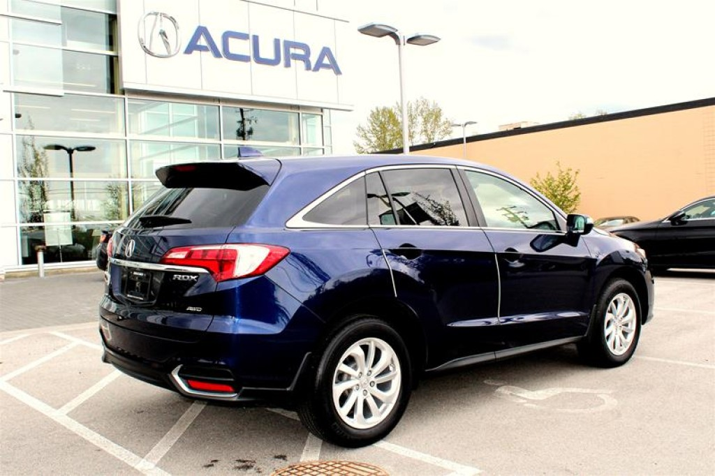 used 2016 acura rdx tech at for sale in langley british columbia. Black Bedroom Furniture Sets. Home Design Ideas
