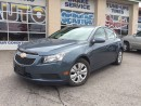 Used 2012 Chevrolet Cruze LT Turbo - REMOTE START for sale in Aurora, ON