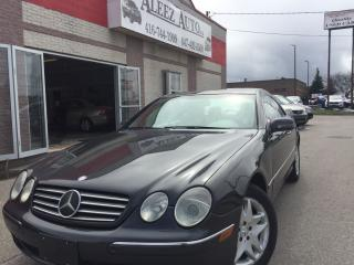 Used 2002 Mercedes-Benz CL500 Luxury for sale in North York, ON