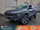 Used 2016 Jeep Cherokee TRAILHAWK, NO HIDDEN FEES, VERY LOW MILEAGE, FREE LIFETIME ENGINE WARRANTY! for sale in Richmond, BC