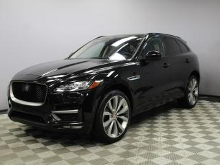 Used 2017 Jaguar F-PACE 35t R-Sport - Original Retail Price $78,711 - 4yr/80000kms manufacturer warranty included until June 29, 2021! Locally Owned and Serviced | Executive Demo | No Accidents | 3M Protection Applied | Navigation | Surround Camera System | Parking Sensors | Par for sale in Edmonton, AB
