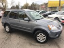 Used 2006 Honda CR-V EX-L/AWD/LEATHER/ROOF/LOADED/ALLOYS for sale in Scarborough, ON