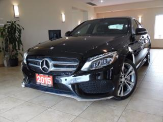 Used 2015 Mercedes-Benz C-Class C400  4MATIC NAVI|REAR CAM|BLIND SPOT|PANOROOF for sale in Toronto, ON