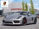 Used 2016 Porsche Cayman GT4 - Local Edmonton Vehicle Never Track Driven - 2 Year Unlimited Mileage Warranty Included for sale in Edmonton, AB