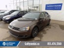 Used 2013 Volkswagen Jetta LEATHER, SUNROOF, HEATED SEATS. for sale in Edmonton, AB