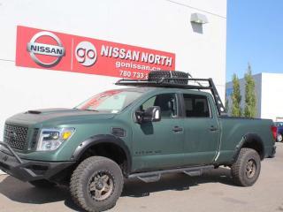 Used 2017 Nissan Titan XD PRO-4X/CREW CAB/4X4/LEATHER/CUSTOM UPGRADES for sale in Edmonton, AB