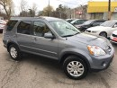 Used 2006 Honda CR-V EX-L/AWD/LEATHER/ROOF/LOADED/ALLOYS for sale in Pickering, ON