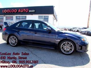 Used 2011 Subaru WRX STI TURBO AWD 6 SPEED CERTIFIED 2 YR WARRANT for sale in Milton, ON