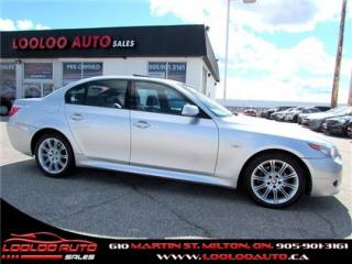 Used 2007 BMW 5 Series 530xi M PKG Navigation Sunroof Certified 2YR Warra for sale in Milton, ON