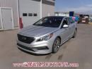 Used 2016 Hyundai SONATA SPORT-TECH 4D SEDAN 2.4L for sale in Calgary, AB