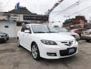 Used 2009 Mazda MAZDA3 GT!! LEATHER/SUNROOF/AUTO ((CERTIFIED)) for sale in Hamilton, ON
