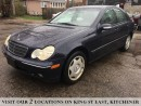Used 2002 Mercedes-Benz C-Class Classic | 6 SPEED | LEATHER for sale in Kitchener, ON