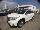 Used 2015 Toyota Highlander Limited AWD w/ Remote Starter / Navi / Leather for sale in Etobicoke, ON