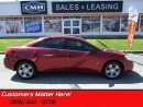 Used 2008 Pontiac G6 SE   CRUISE! POWER GROUP! KEYLESS! for sale in St Catharines, ON
