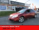 Used 2008 Pontiac G6 SE   CRUISE! POWER GROUP! REMOTE START! for sale in St Catharines, ON
