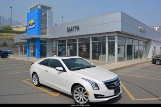 New 2017 Cadillac ATS 2.0 TURBO for sale in Kamloops, BC