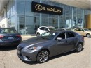 Used 2014 Lexus IS 250 Luxury Package for sale in Brampton, ON
