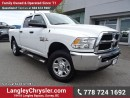 Used 2015 Dodge Ram 3500 ST ACCIDENT FREE w/ 4X4, 6-SPEED MANUAL & REAR-VIEW CAMERA for sale in Surrey, BC