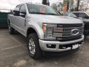 Used 2017 Ford F-350 Platinum VERY LOW KM'S, LOCAL, NO ACCIDENTS for sale in Surrey, BC