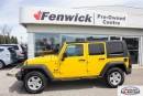 Used 2008 Jeep Wrangler Unlimited X 4D Utility 4WD for sale in Sarnia, ON