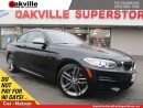 Used 2015 BMW M235 | 6 SPEED M/T | SUNROOF | LEATHER | M PACKAGE for sale in Oakville, ON