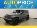 Used 2015 Jeep Wrangler Unlimited Sahara Leather Navigation for sale in Mississauga, ON
