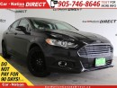 Used 2014 Ford Fusion SE| AWD| LEATHER| NAVI| SUNROOF| for sale in Burlington, ON