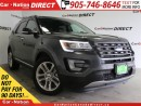 Used 2016 Ford Explorer Limited| 4X4| LEATHER| DUAL SUNROOF| NAV-READY| for sale in Burlington, ON