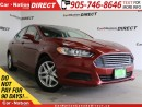 Used 2014 Ford Fusion SE| NAVI| BACK UP CAMERA| TOUCH SCREEN| for sale in Burlington, ON