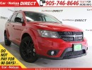 Used 2016 Dodge Journey Black Top| 7-PASSENGER| TOUCH SCREEN| LOW KM'S| for sale in Burlington, ON