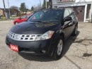 Used 2004 Nissan Murano BLACK BEAUTY SL for sale in Scarborough, ON