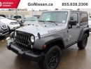 Used 2016 Jeep Wrangler Willys Edition, Rare Piece, Great Colour Combo for sale in Edmonton, AB