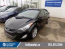 Used 2013 Hyundai Elantra NAV, SUNROOF, BACK UP CAMERA, LOW KMS! for sale in Edmonton, AB