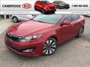 Used 2013 Kia Optima SX TURBO KIA CERTIFIED PRE-OWNED for sale in Cambridge, ON