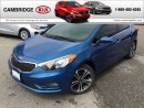 Used 2014 Kia Forte EX AUTO ROOF KIA CERTIFIED PRE-OWNED for sale in Cambridge, ON