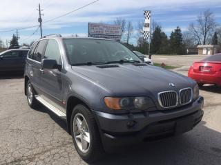Used 2002 BMW X5 4.4i for sale in Komoka, ON