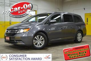 Used 2016 Honda Odyssey EX-L LEATHER SUNROOF DVD for sale in Ottawa, ON