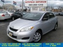 Used 2014 Toyota Matrix Auto Bluetooth/All Power Options &GPS* for sale in Mississauga, ON