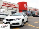 Used 2013 Honda Civic LX, ONE OWNER, CLEAN CARPROOF REPORT for sale in Scarborough, ON
