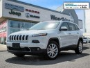 Used 2016 Jeep Cherokee Limited /Navigation for sale in Markham, ON
