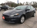 Used 2014 Dodge Dart SXT - Fuel Saver for sale in Norwood, ON