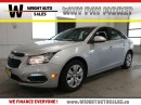 Used 2016 Chevrolet Cruze LT| BLUETOOTH| BACKUP CAM| CRUISE| 47,955KMS for sale in Cambridge, ON