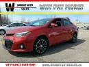 Used 2014 Toyota Corolla S| LEATHER| SUNROOF| BACKUP CAM| 44,880KMS for sale in Cambridge, ON