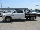 Used 2014 Dodge Ram 3500 4X4 Crew Cab 9ft Flatdeck for sale in Richmond Hill, ON