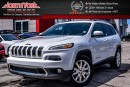 Used 2016 Jeep Cherokee Limited|4x4|Sunroof|Nav|R-Start|HtdFrSeats|RearCam|18